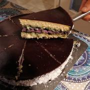 Gâteau aux myrtilles